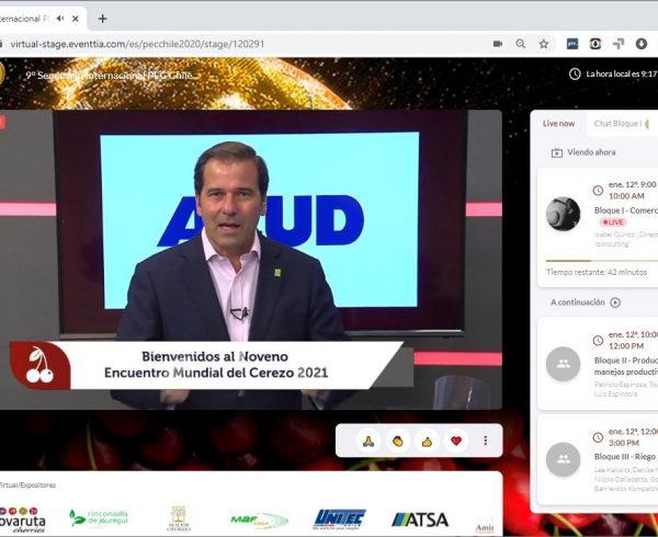 """La Industria del Cerezo se dio cita en el """"Noveno Encuentro Mundial del Cerezo 2021"""""""