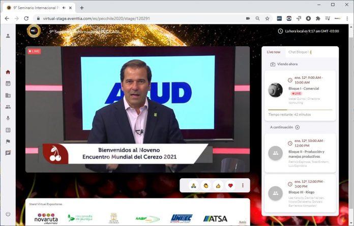 Con gran asistencia de público, se vivió El Noveno Encuentro Mundial del Cerezo 2021